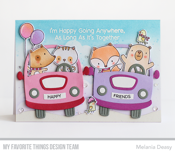 My Favorite Things Better Together Stamps /& Dies