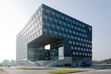 Cornerstone- Rotterdam The Hague Airport - JHK Architecten