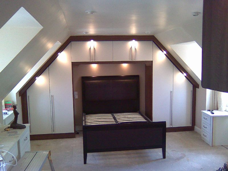 Image Result For Wardrobe Solutions For Loft Conversion Fitted