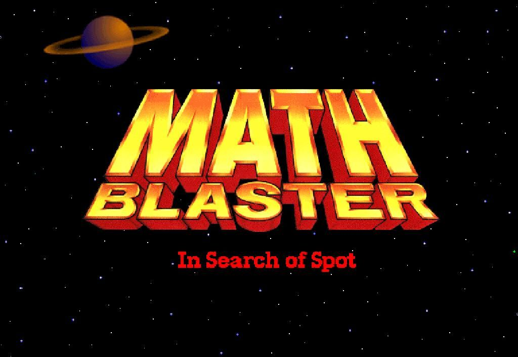 educational websites - Omg, I use to play Math Blaster as a child ...