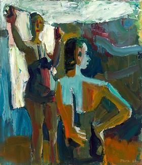 Two Bathers - David Park