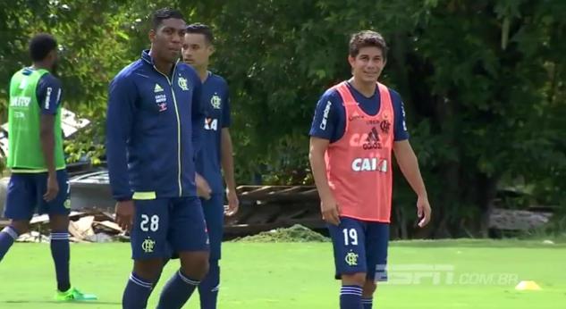 Terça feira de retornos: Conca Éverton e Ederson participam de atividade no Rio