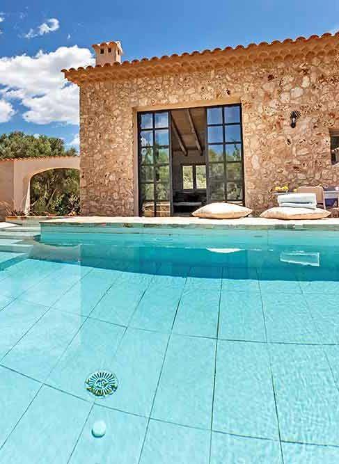 Die moderne Casa Cascada bei Costitx auf Mallorca ist die ideale - herrenhaus 12 jahrhundert modernen hotel