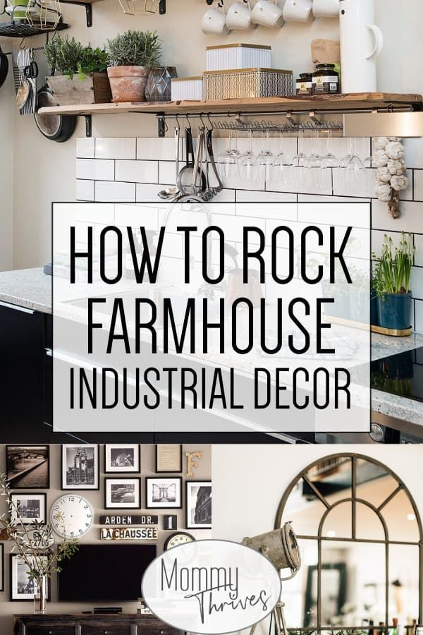 5 Ways To Pull Off Industrial Farmhouse Decor images