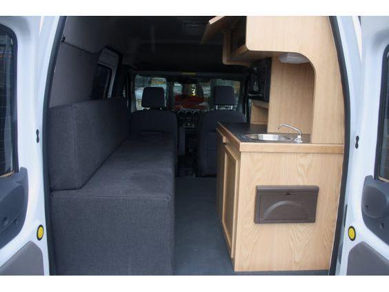 ford transit connect camper google search van dwelling ideas van life pinterest. Black Bedroom Furniture Sets. Home Design Ideas