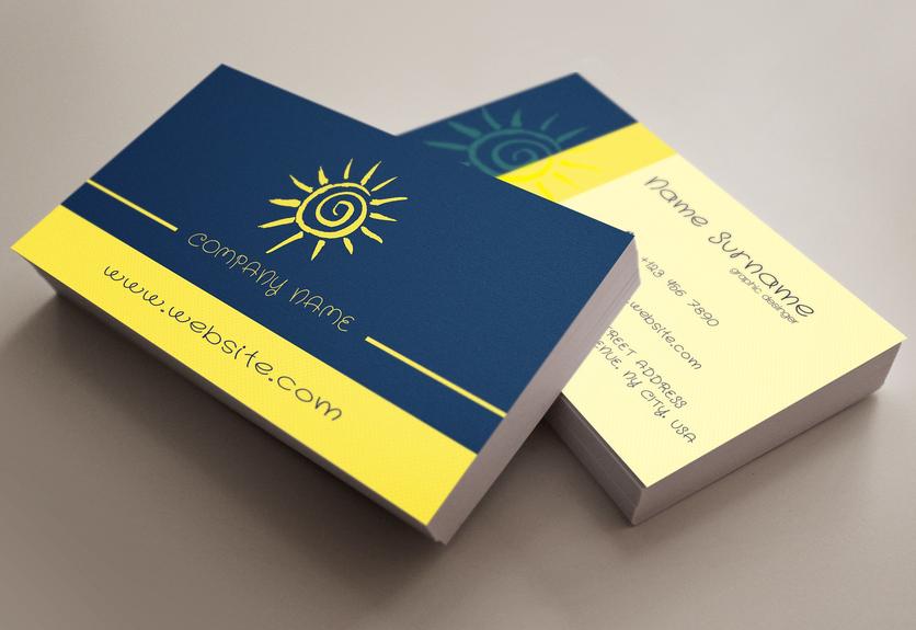 15 creative travel business card psd templates  business
