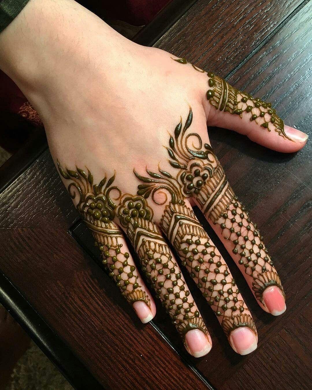 Fingers Only By Hennabynayalesh Henna Mehndi Henna