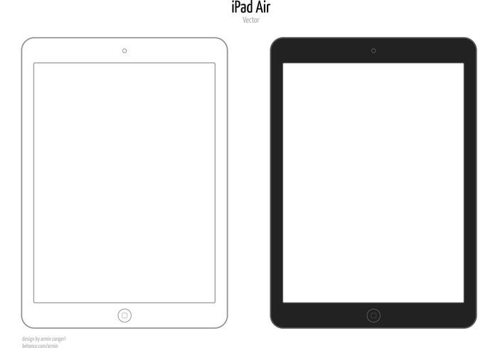 Image Result For Ipad Outline Vector Technology Outline Designs Vector