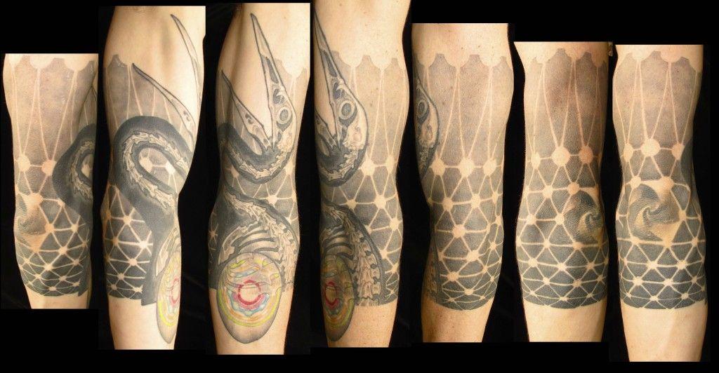 award winning tattoo artist michael norris of Austin, Texas ...