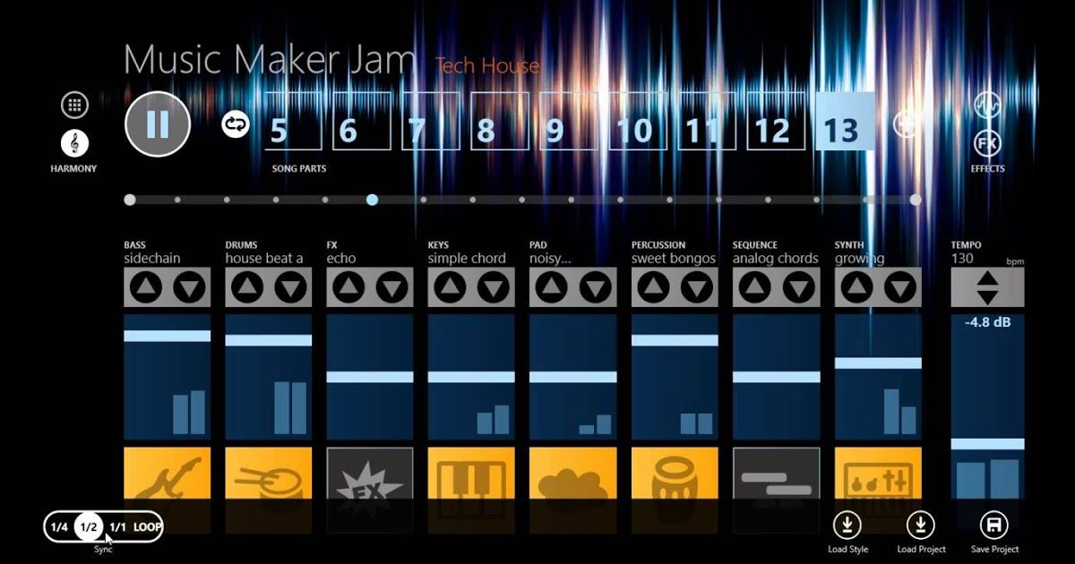 Music Maker Jam, la app para los DJ's de Windows 8