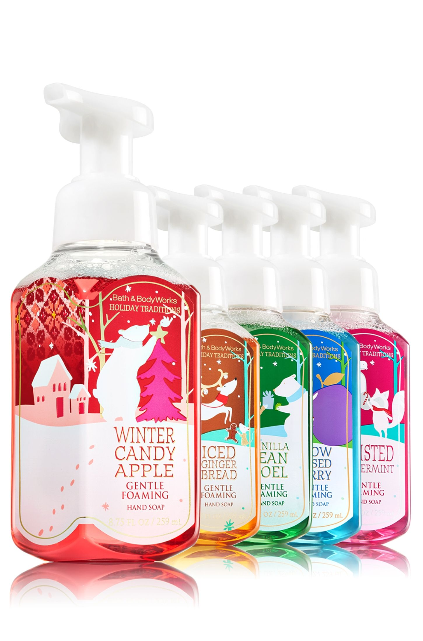 Holiday Traditions Gentle Foaming Hand Soap Bundle Soap