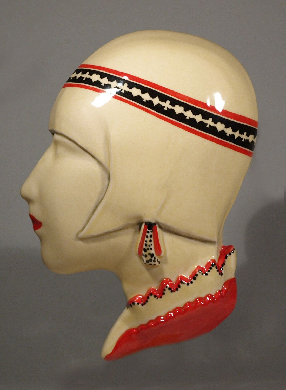 Echo of Deco Tamara de Lempicka Wall Mask. via Etsy. | Deco Wall ...