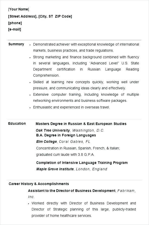 resume examples by industry and job title  with images