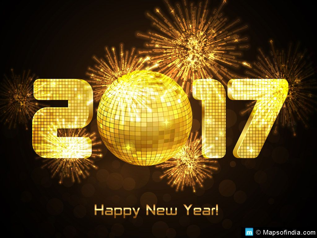 New Year 1 Jan 2017 Is Coming Soon. We Have Some Amazing And Fantastic Happy  New Year 2017 HD Wallpapers For Friends, Relatives, Family Members, Parents.