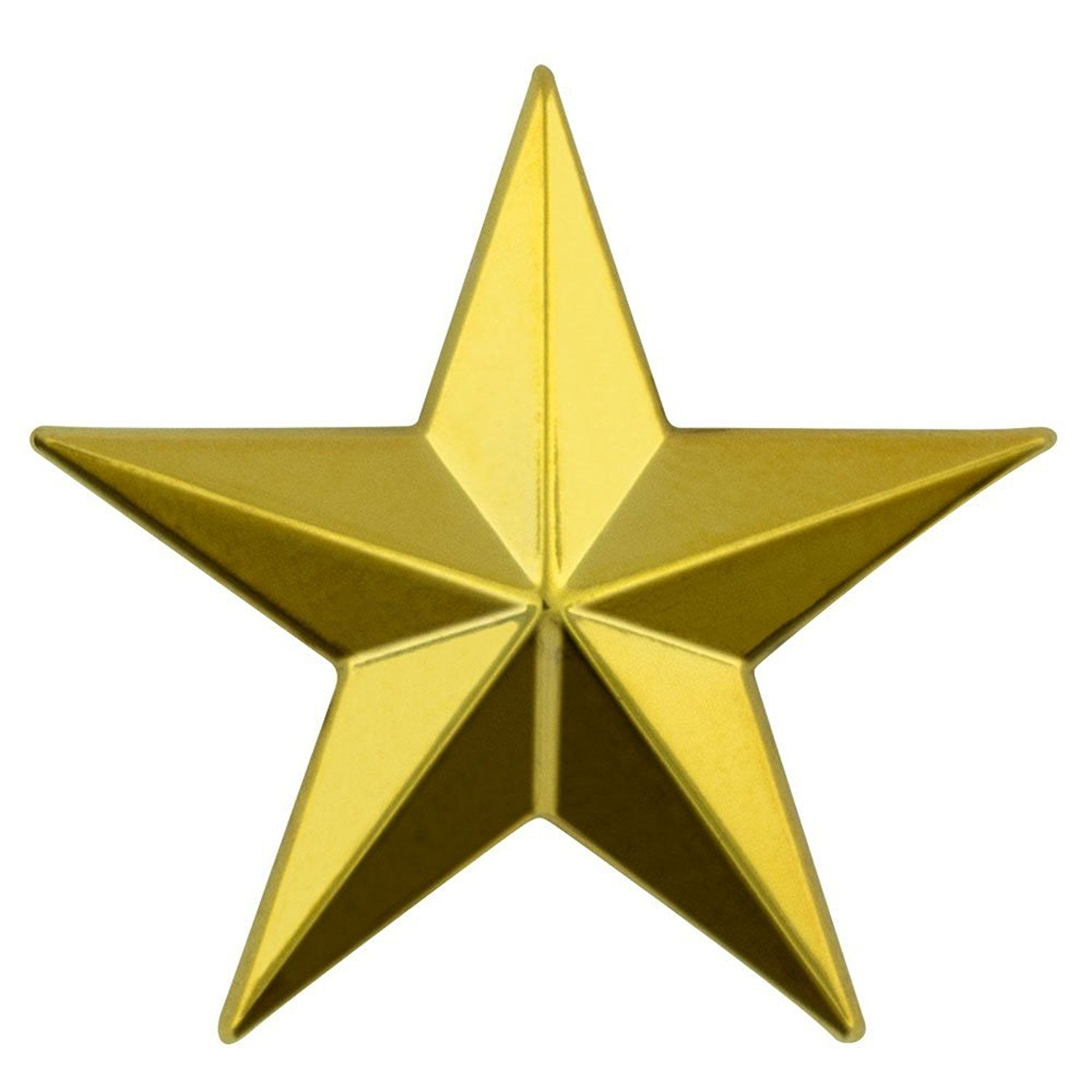 Pinmart S Military 3d 5 Point Gold Star Lapel Pin See This Great Product This Is An Affiliate Link Broochesandpins Gold Stars Lapel Pins Stars