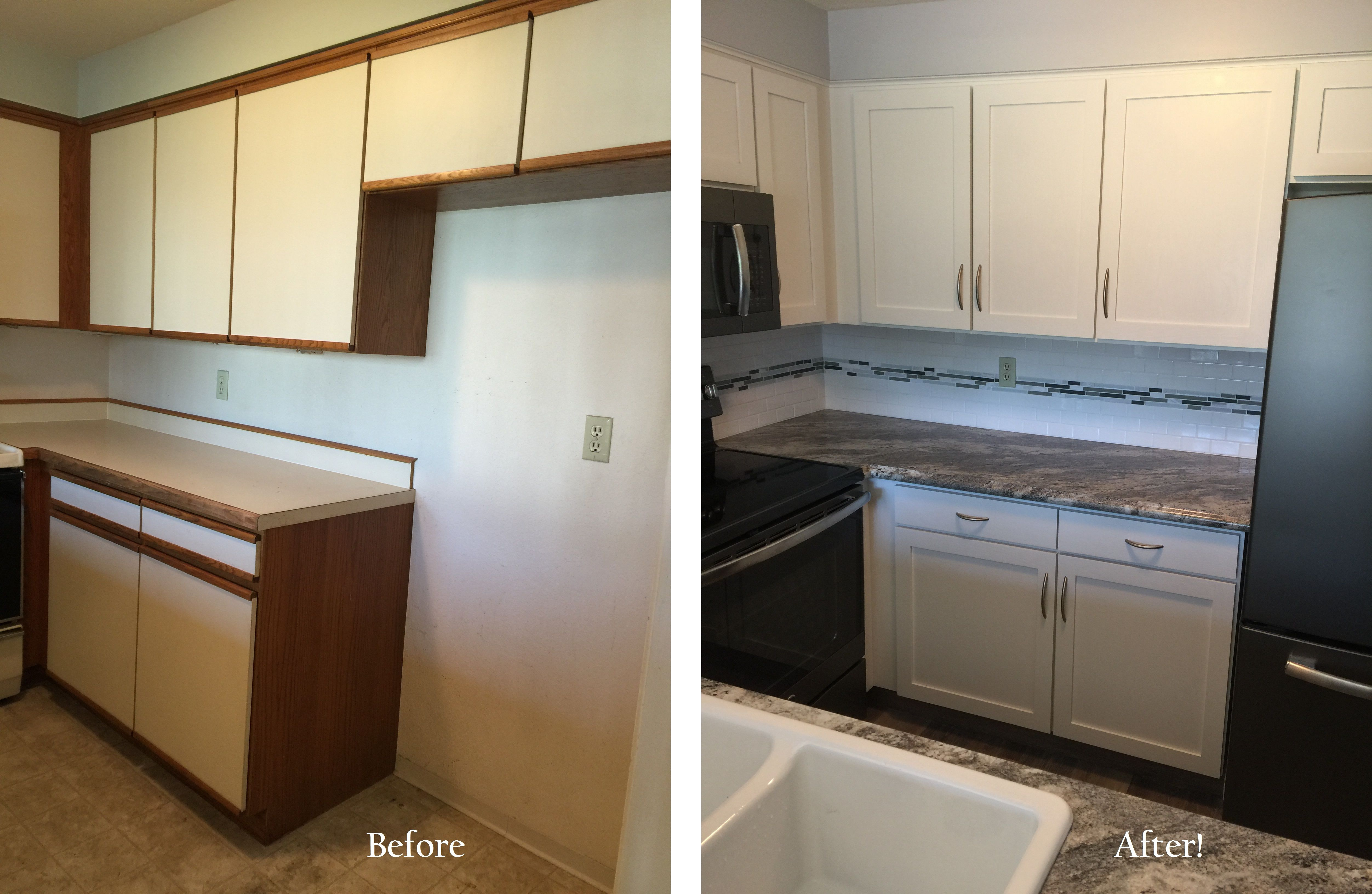Pin On White Cabinet Refacing
