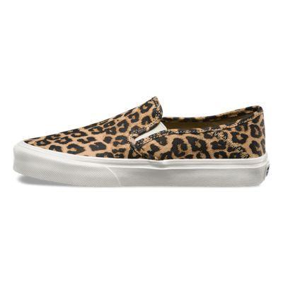 99f7c0ada5 Womens Slip-On SF 8IKN54 Hemp leopard  Vans