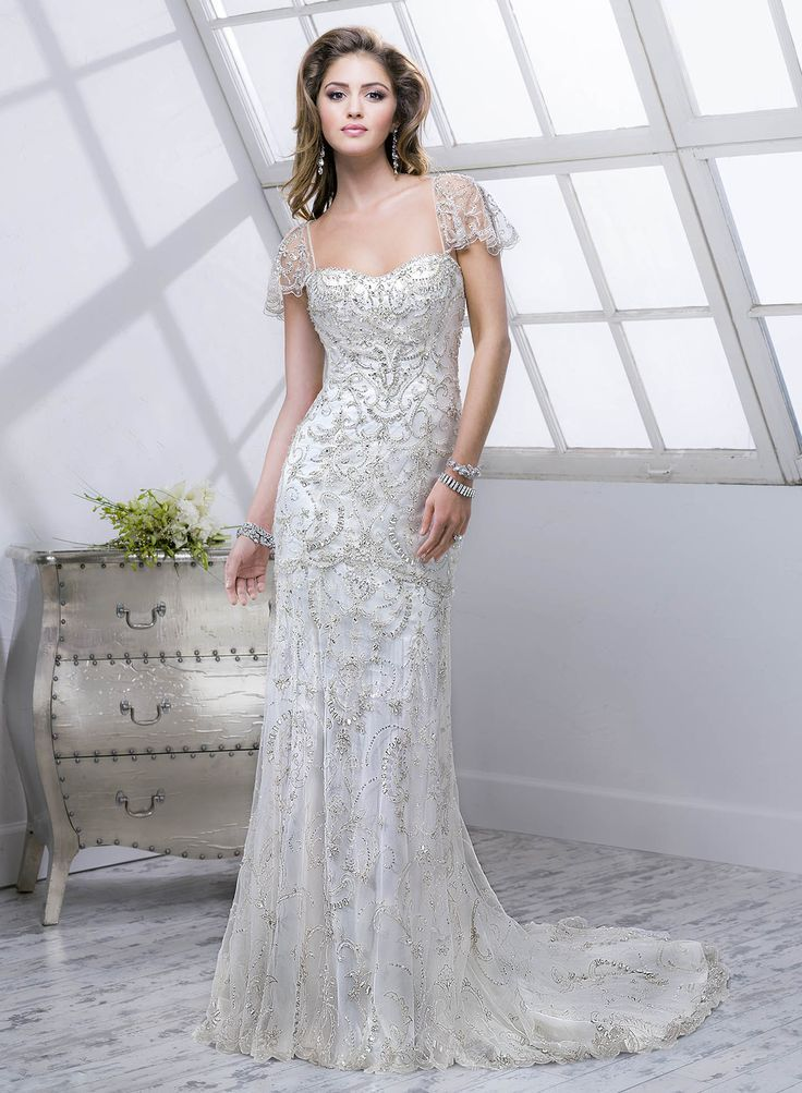 46 Great Gatsby Inspired Wedding Dresses and Accessories | Party und ...