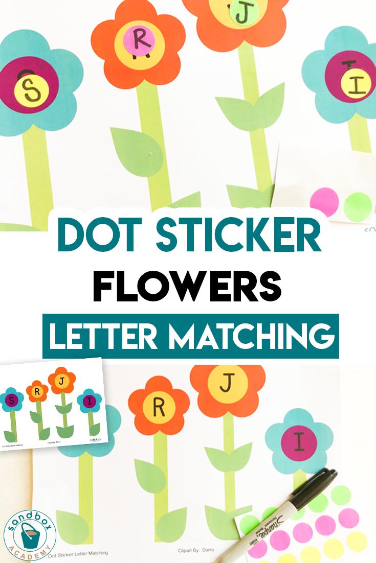 Dot Sticker Flower Letter Worksheet For Preschool Sandbox Academy In 2020 Letter Worksheets For Preschool Letter Matching Letter Worksheets [ 1102 x 735 Pixel ]