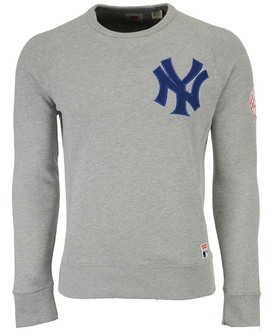 huge discount 7a301 d9d3c Levi's New York Yankees Crew Sweatshirt | Products | Crew ...