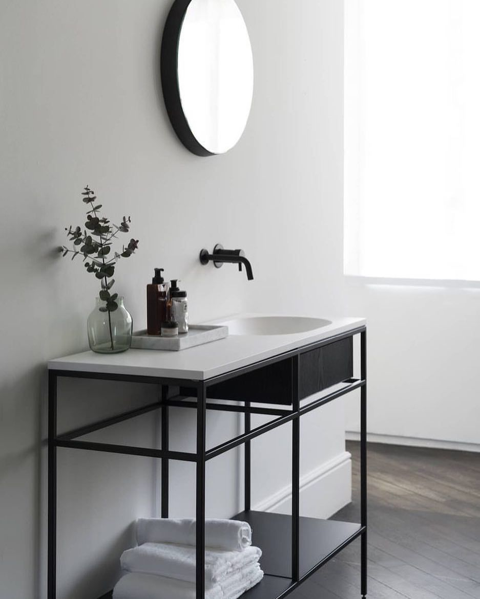 Bathroom simplicity  via @est_living #bathroom #bathroominspo #bathroomdesign #simplicity #love