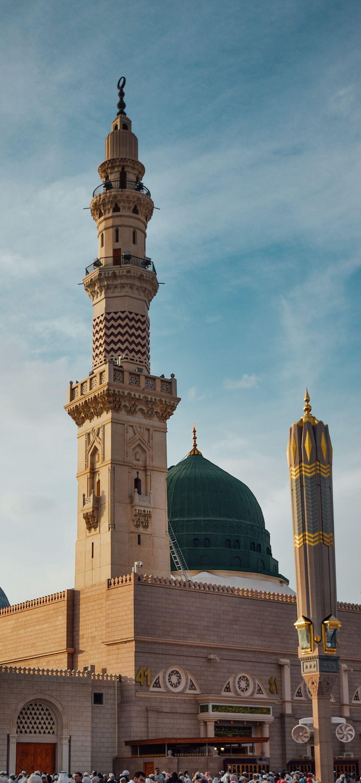 Al Masjid An Nabawi Mosque Hd Wallpaper Http Bit Ly 2zi4v5o Dini Mimari Camiler Mekke