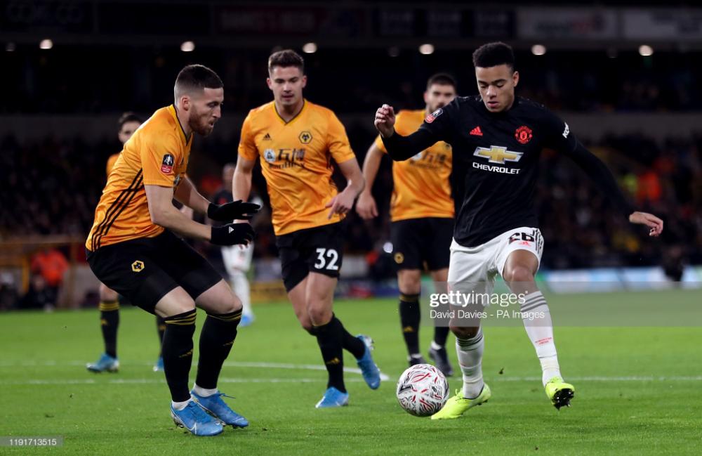 Manchester United S Mason Greenwood And Wolverhampton Wanderers Matt In 2020 Manchester United Manchester United Team Manchester United Live