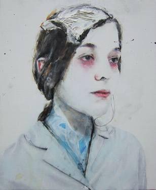 """Saatchi Art Artist Antoine Cordet; Painting, """"MOTHERFUCKER YOU DECIDE"""" #art"""