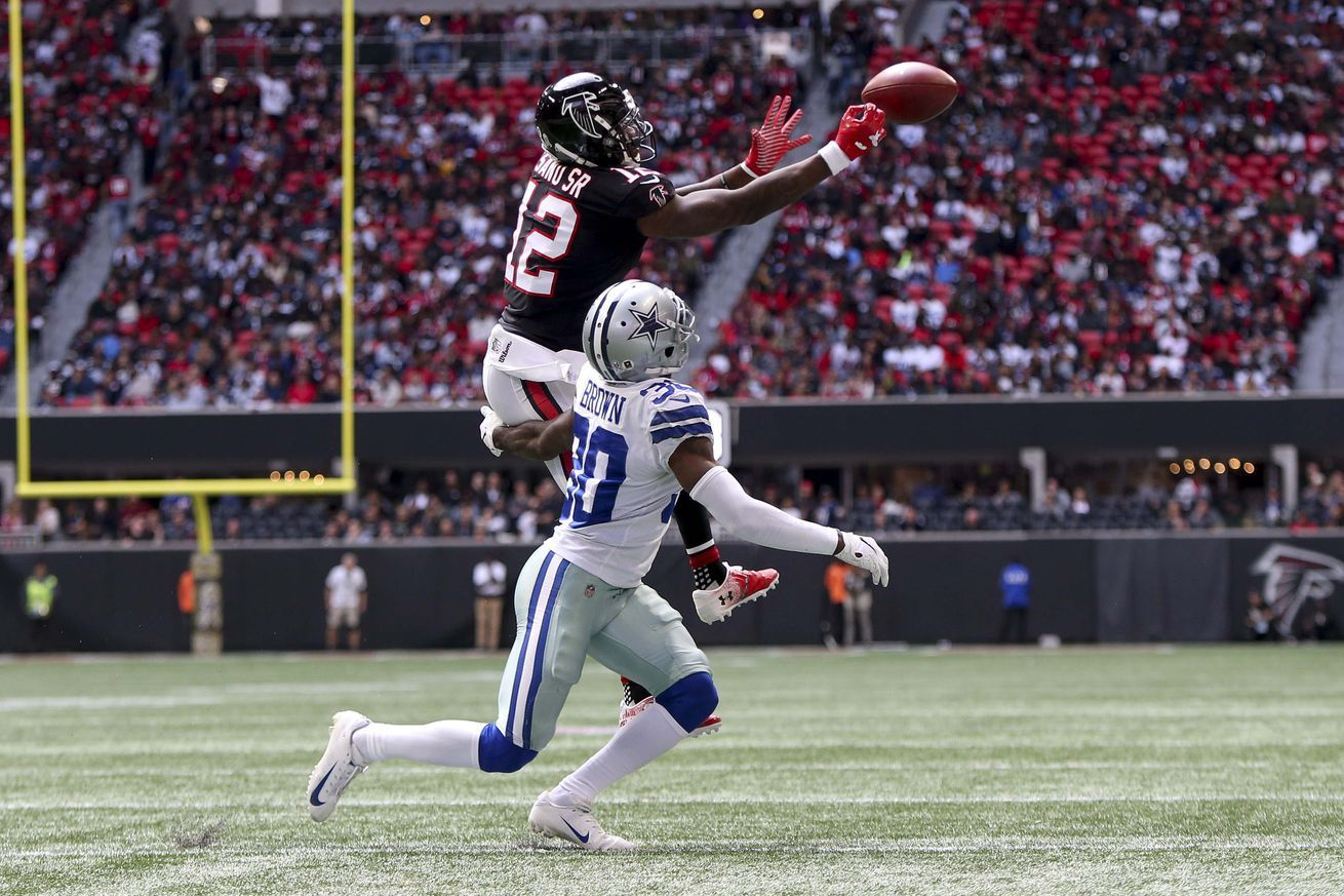Falcons Vs Cowboys Vote For The Offensive Player Of The Game Falcons Nfl News Cowboys