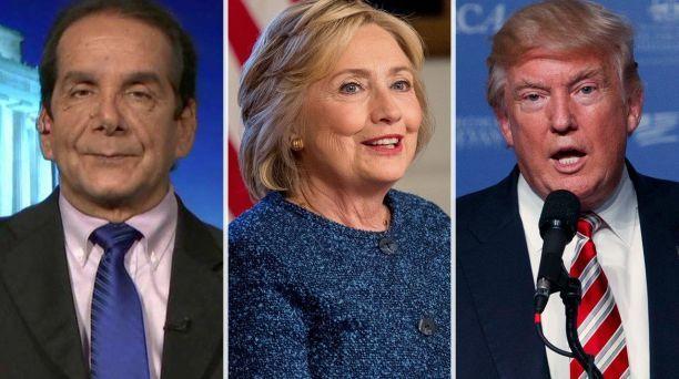 Presumptuous Politics: Krauthammer: Clinton has set the debate bar so low...
