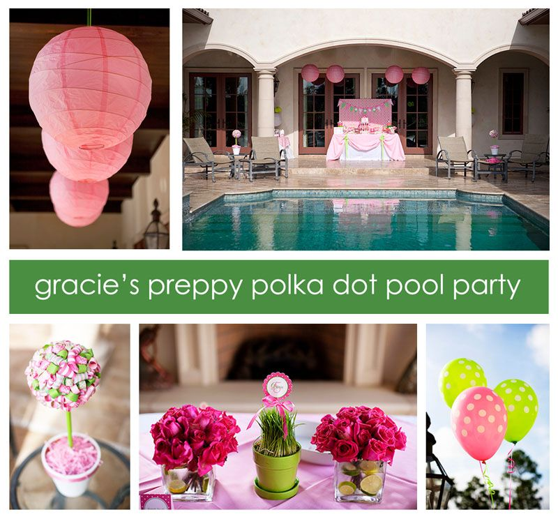 Pool Themed Bathroom: Pin By Mandy J Engelman On For A Preppy Party