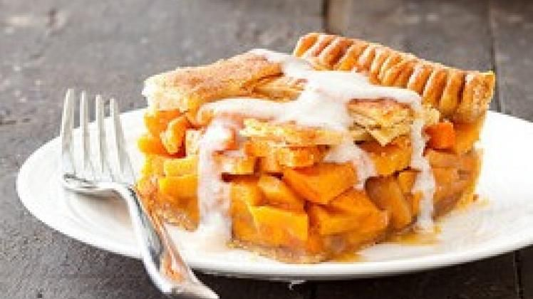 Sweet Potato Sonker - a North Carolina specialty, similar to a pie or a cobbler