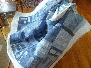 crazy pave all the scraps onto a sheet