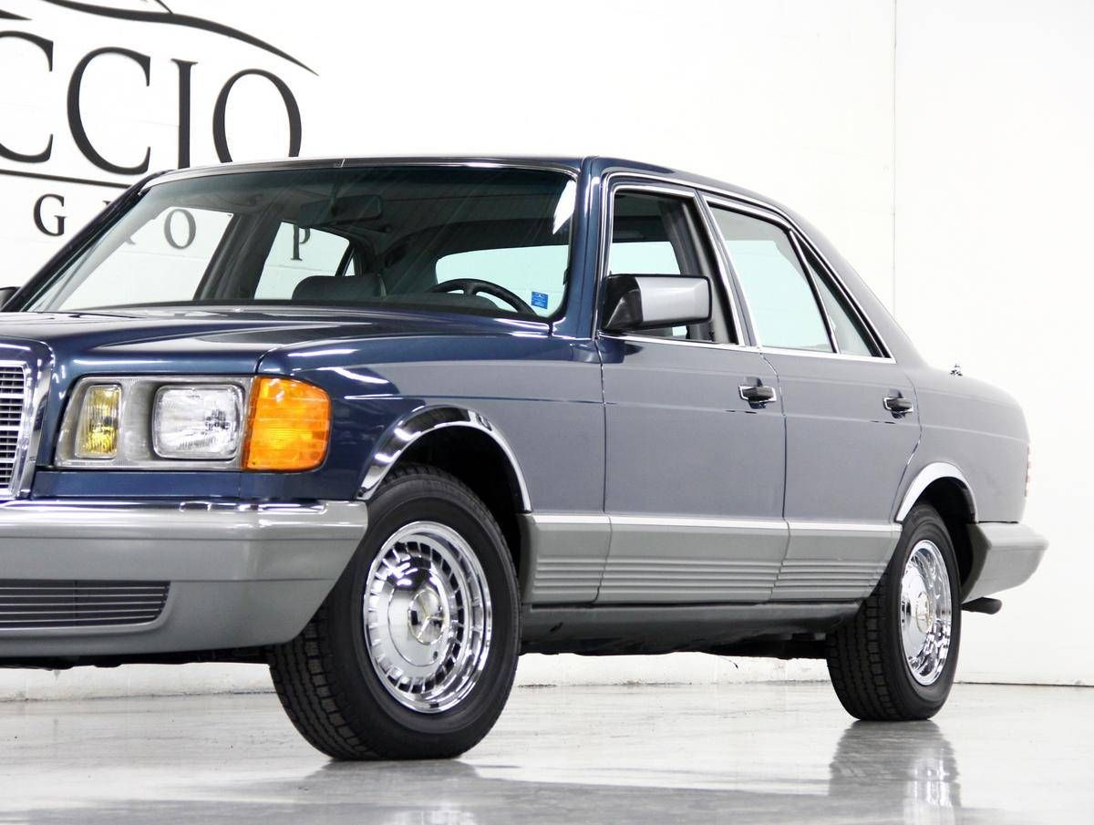 1983 Mercedes Benz 300sd Turbo Diesel W126 Classic Cars Classic