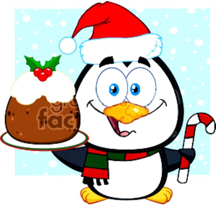 royalty free rf clipart illustration cute penguin cartoon