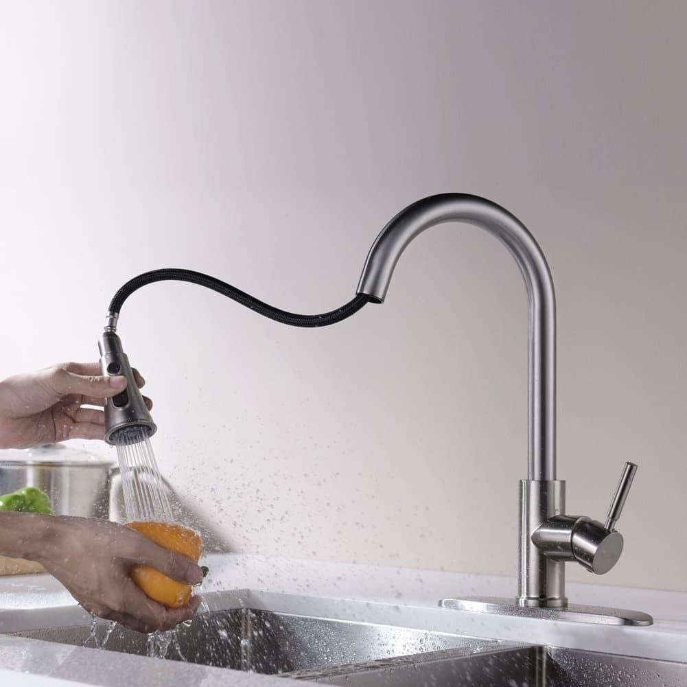 Top 10 Best Kitchen Faucets In 2020 Kitchen Faucets Pull Down