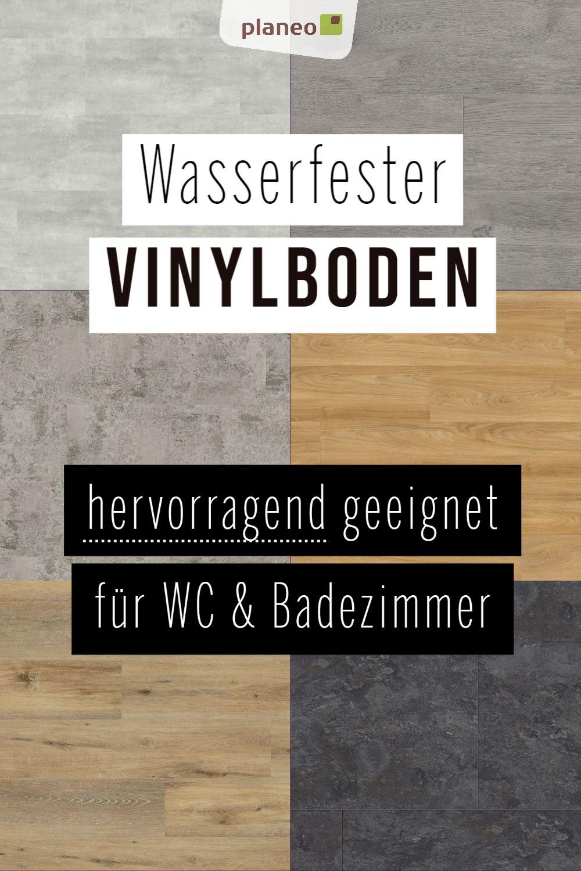 Vinylboden Fur Badezimmer Wasserfest Wie Fliesen Aber Fusswarm Geprufte Qualitat In 2020 Vinylboden Vinylboden Betonoptik Badezimmer Vinyl