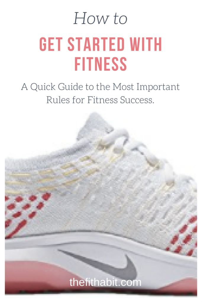 Getting Started With Getting Fit