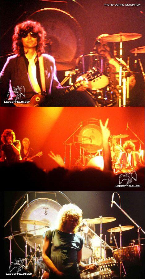 Led Zeppelin Final Concert In Berlin 7 July 1980 Led Zeppelin