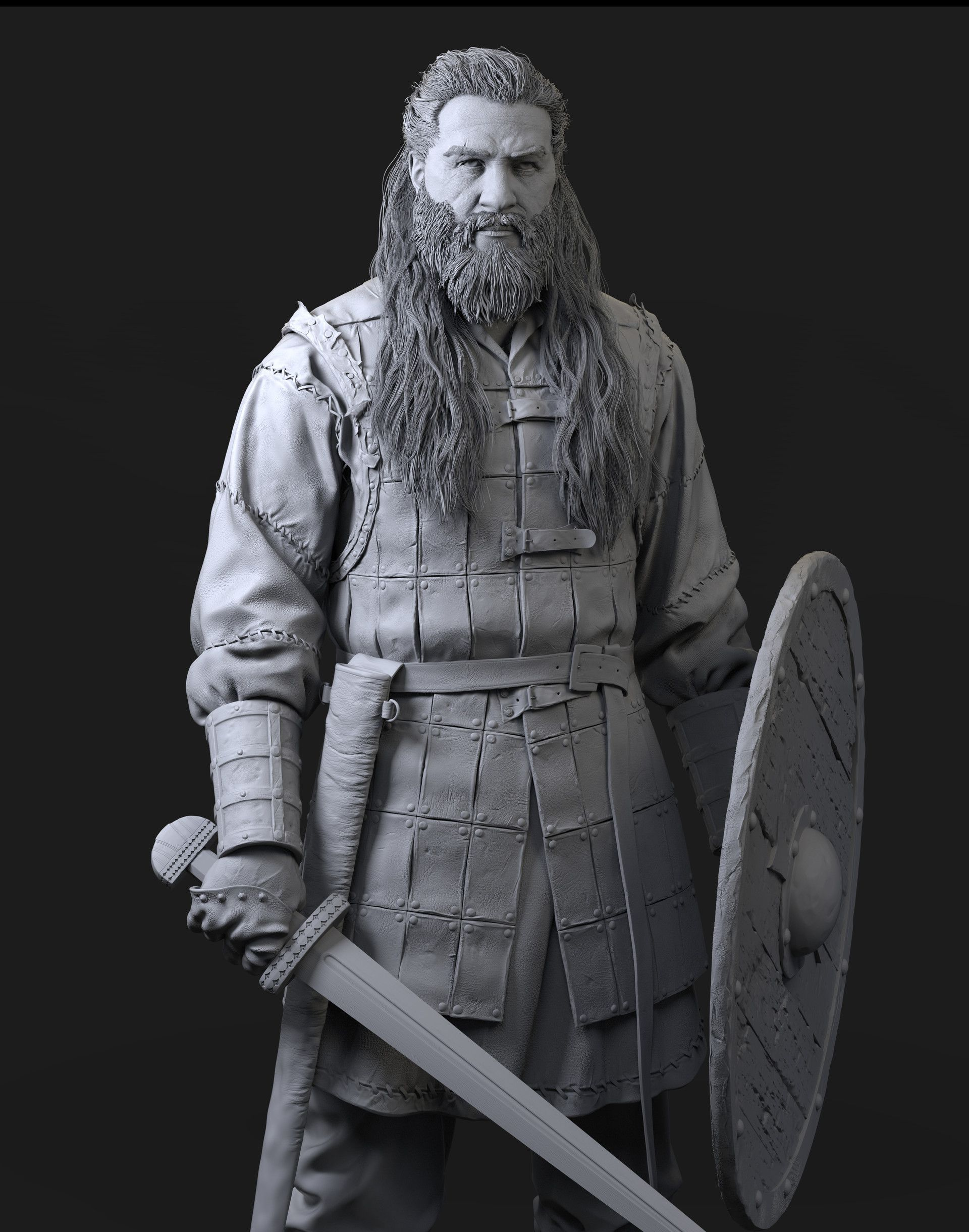 db1d4ca9a19 ArtStation - Vikings, Wang HY | Scupts in 2019 | Fantasy art ...