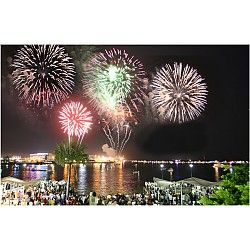 America S Birthday Bash At Bayfront Park Most Romantic Places Romantic Places Fireworks