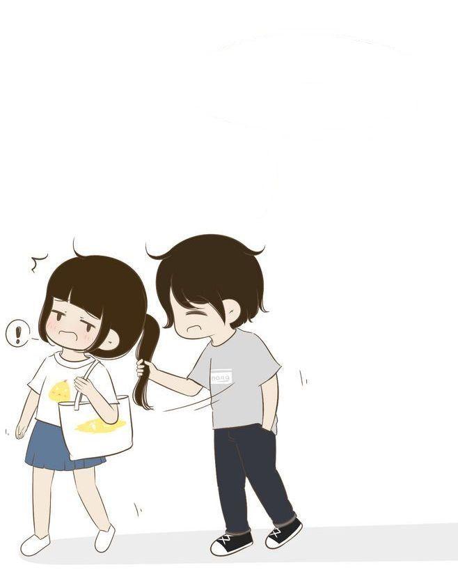 Pin By Amera Elmahdi On Relationship Goals Cute Love Cartoons Couple Cartoon Cute Couple Wallpaper