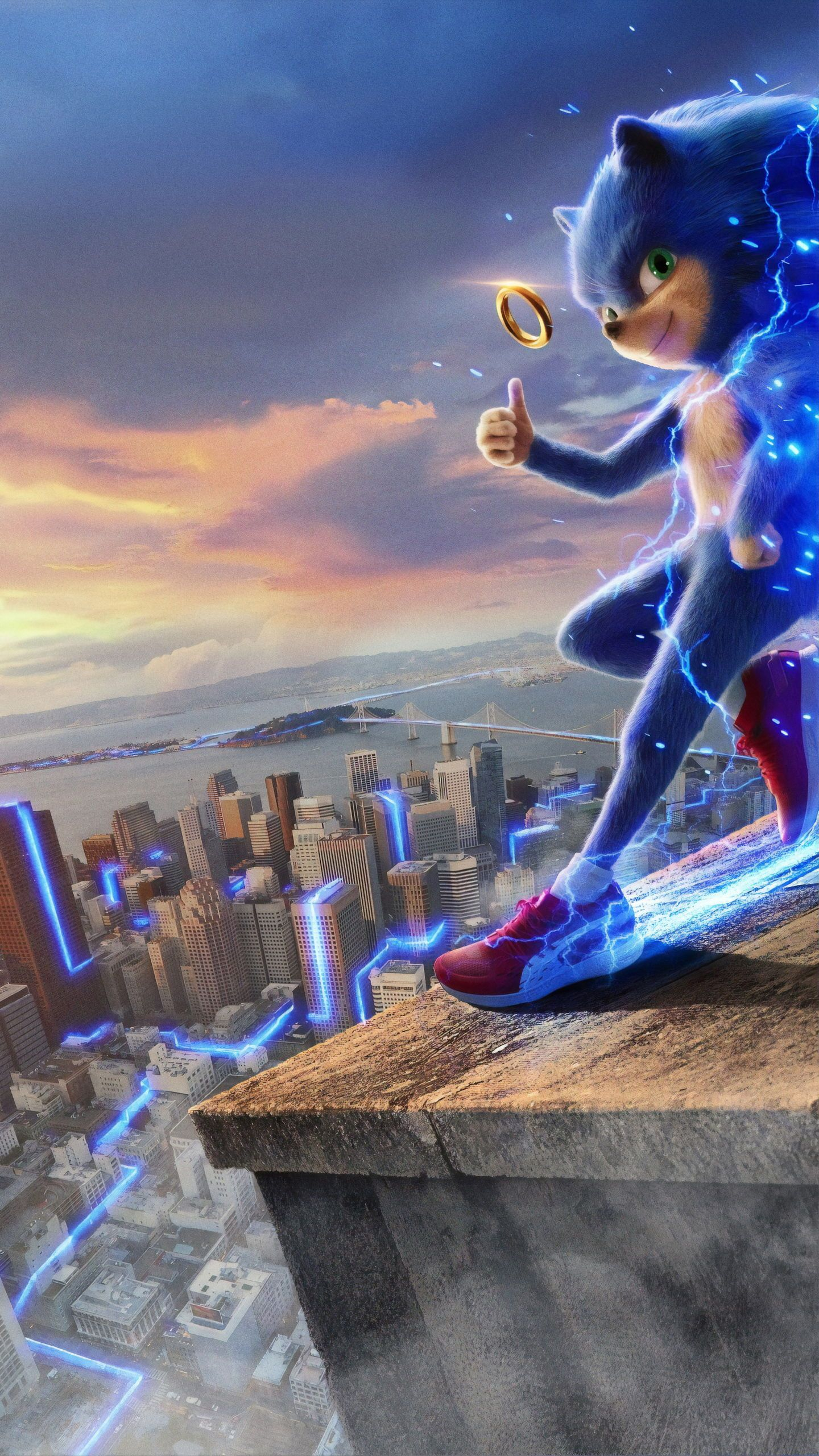 Sonic The Hedgehog Wallpaper Sonic Wallpaper Poster Save Iphone Hedgehog Movie Movie Wallpapers Sonic The Movie