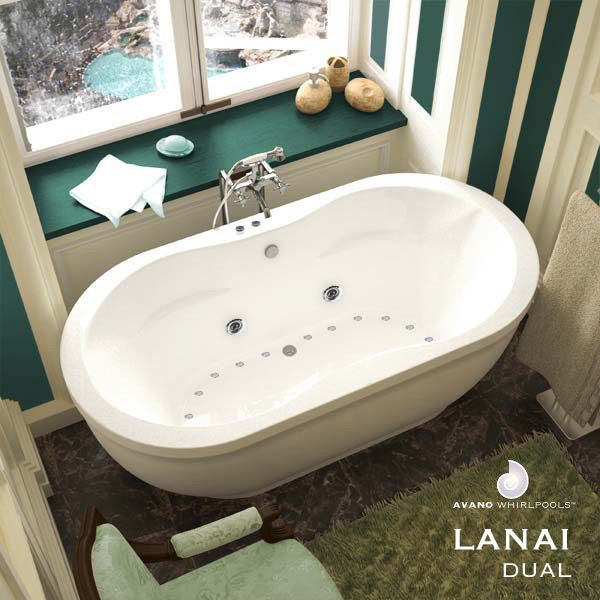 Avano 3471ad Lanai 71 Quot Free Standing Salon Spa With 24 Air