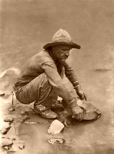 Gold Prospecting 49ers Gold Panning There Is A Website