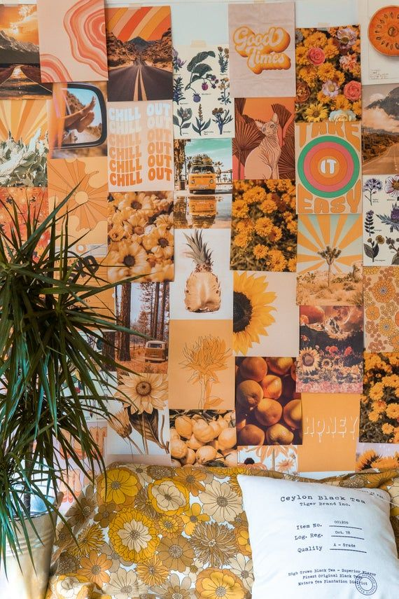 Mellow Sunshine Collage Kit #collagewalls