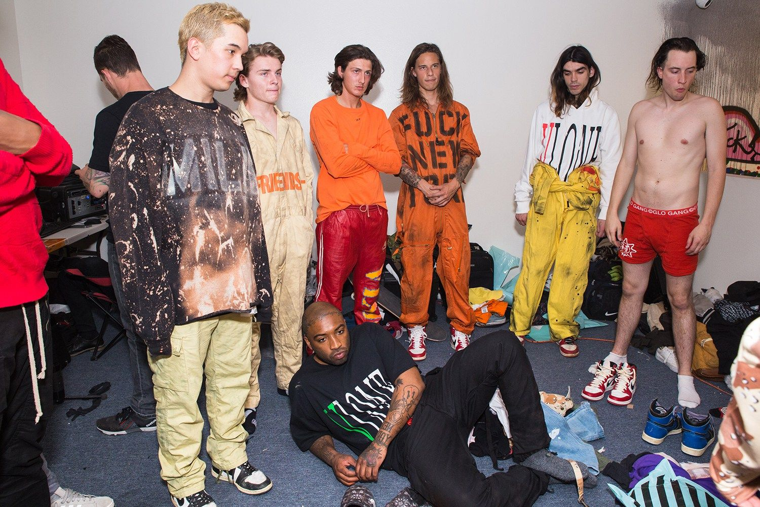 23dfe2a06b1e A AP Rocky   A AP Bari Launch VLONE Pop-Up in Downtown LA With an OFF-WHITE  Collaboration 16apr1`6