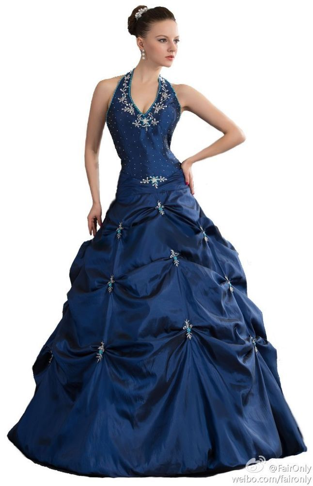 FairOnly New Stock Formal Evening Party Prom Ball Gown Size:6 8 10 12 14 16