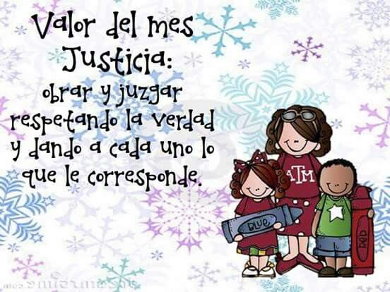 Frases Infantiles Sobre El Valor De La Justicia En El Mundo: Material Didáctico