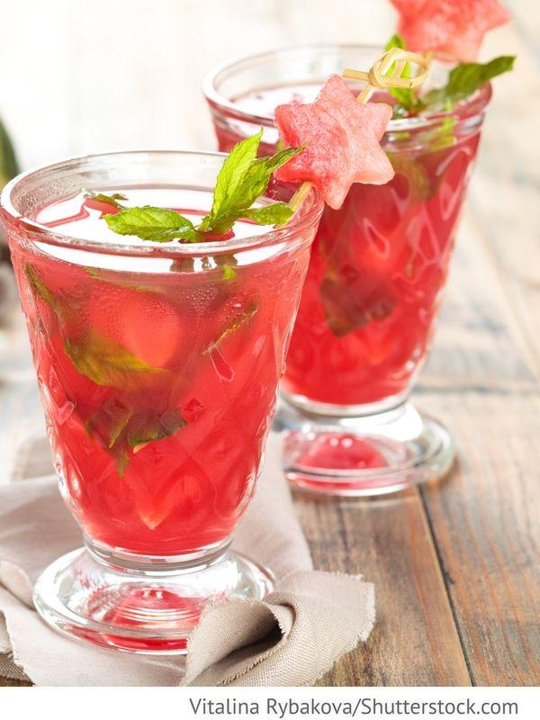 Wassermelonen Limonade Arbusnyj napitok - Арбузный напиток ...